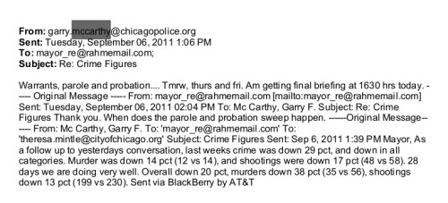 Democrats have been running the murderous, racist police departments in almost every major US city for ever. Source: Rahm emails, page 220.